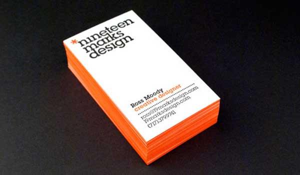 business card desing