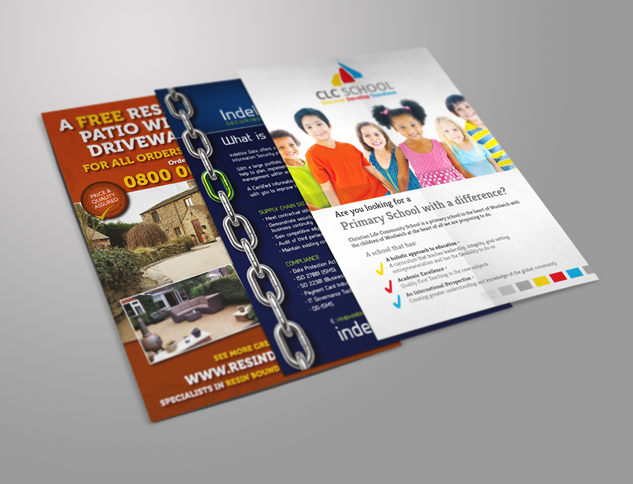 Custom Flyers and Leaflets