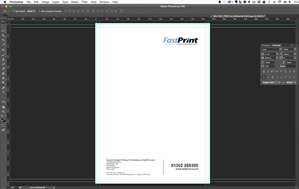 Designing a letterhead the complete guide heres a zoomed image so you can see what the bottom actually looks like spiritdancerdesigns Choice Image