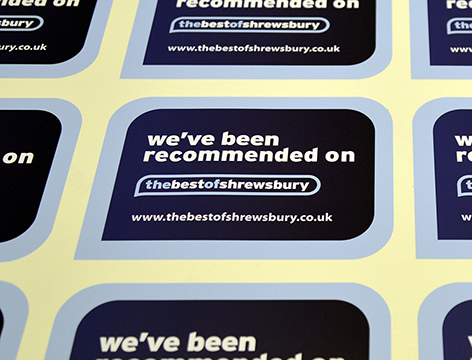 Custom Vinyl Stickers Printed From Plastic Material - Vinyl stickers uk