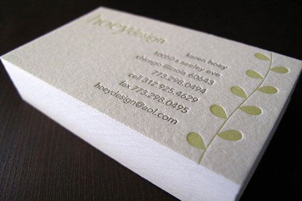 if you take a look at the business card pictured above youll see that it is printed on relatively high gsm paper which gives it a high quality lookfeel - Business Card Paper