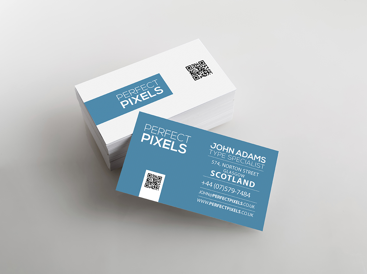Buy Spot UV Business Cards Printed line