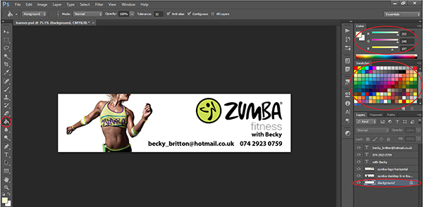 How To Design A Banner In Photoshop