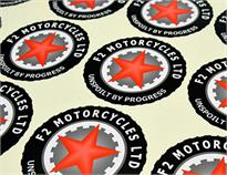 Custom Vehicle Sticker Printing
